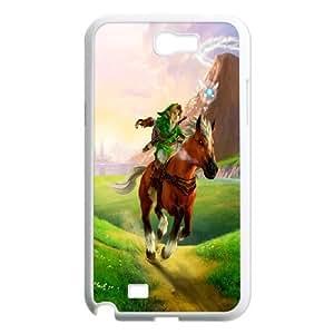 Samsung Galaxy Note 2 N7100 Phone Case The Legend of Zelda F6T6658594 BY RANDLE FRICK by heywan