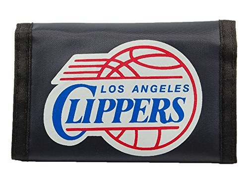 Rico Los Angeles Clippers NBA Licensed Nylon Trifold - Los Rico Clippers Angeles