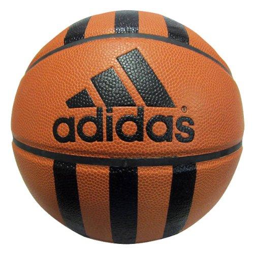 UPC 098096672003, adidas 3 Stripe C 29.5 Basketball (Natural/Black, 7)