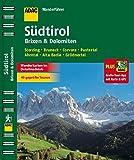 ADAC Wanderführer Südtirol, Brixen & Dolomiten plus Gratis Tour App: Sterzing Bruneck Corvara Pustertal Ahrntal Alta Badia Grödnertal