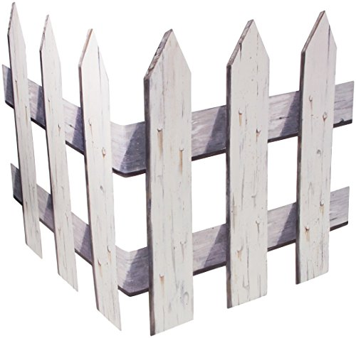 Picket Fence Cutouts Party Accessory (1 count) (3/Pkg) -