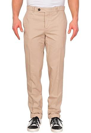 bcff5725e274d3 BRUNELLO CUCINELLI Pantalon Homme 44 Beige Cotton Taille Normale ...