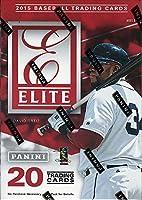 2015 Elite Baseball Series Unopened Blaster Box with One Guaranteed Autograph or Memorabilia Card Per Box
