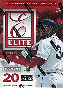 2015 Elite Baseball Series Unopened Blaster Box with One Guaranteed Autograph or Memorabilia Card Per Box