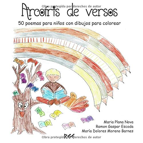 Arcoíris de versos: 50 poemas para niños con dibujos para colorear ...