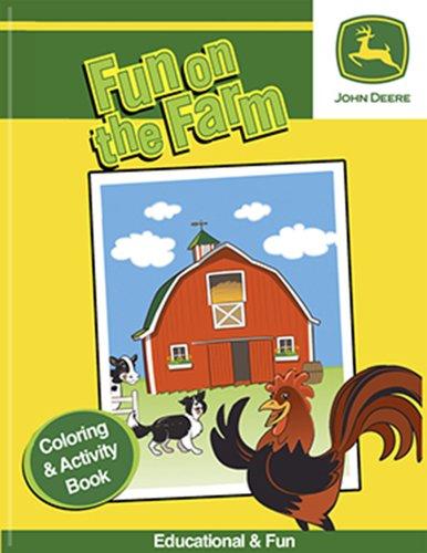 John Deere Fun on the Farm Coloring & Activity Book