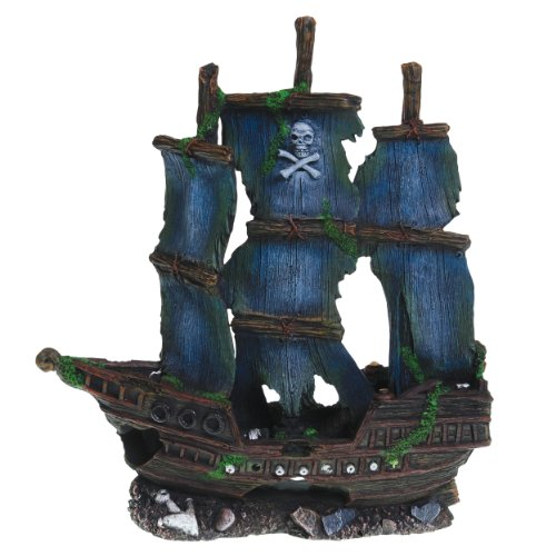compare price  pirate ship fish tank tragerlawbiz