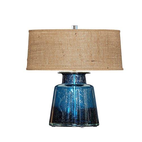 Bradburn Gallery Laguna Blue One-Light Table Lamp - Bradburn Lamps