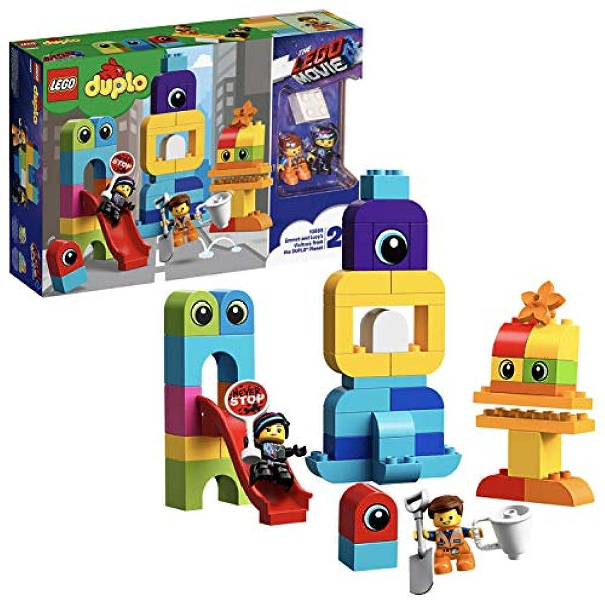 [해외] 레고(LEGO) 듀플로 에멧토와 루시의 블럭씨티 10895 레고 무비 블럭 장난감 소녀