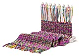 Weaving Loom Weaver Starter Kit Kids Wooden Toys (Purple)