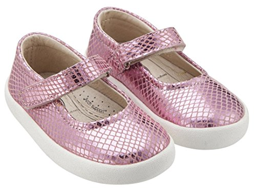 Pink Old Missy Mary Sneaker Leather Jane Snake Soles Shoe Girl's r8IxqU8