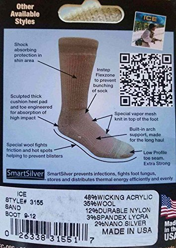 Covert Threads Ice Chaussettes militaires 2