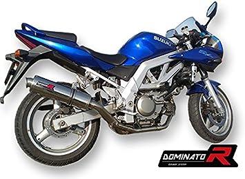 Dominator Exhaust Silencieux /échappement SUZUKI SV 650 03-13 DB KILLER GP I