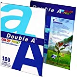 A4 Premium White Paper - 90 GSM - 24lb - Imported from Thailand - Ideal for Printing Color (100 Sheets)