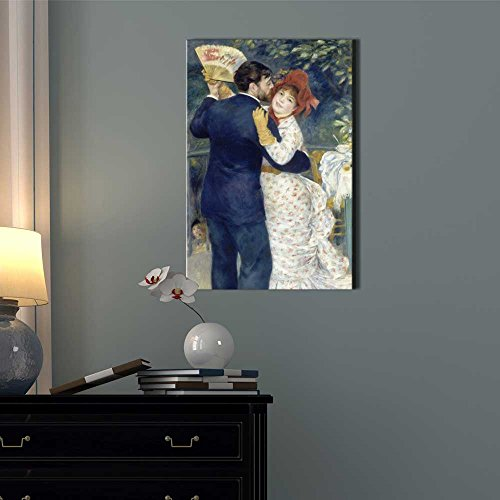 Country Dance by Pierre Auguste Renoir Print Famous Painting Reproduction