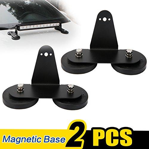 (WOWLED Roof Magnet Base Bracket for LED Light Bar LED Work Light Bar Offroad)