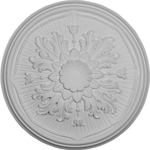 Price comparison product image Ekena Millwork CM16LU 15 3 / 4-Inch OD x 5 / 8-Inch Luton Ceiling Medallion
