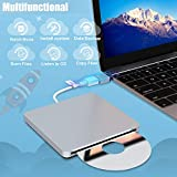 VersionTECH. USB C Type-c Ultra Slim External DVD