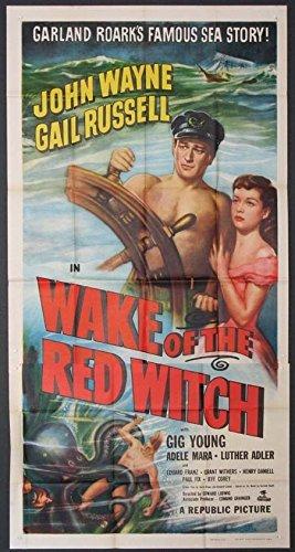 WAKE OF THE RED WITCH JOHN WAYNE 1948 3SHT. (John Wayne Wake Of The Red Witch)