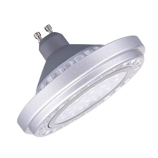 Generic LED regulable GU10 AR111 bombilla foco 15 W 30 ° Beam ángulo de visión luz