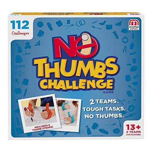 Mattel Games No Thumbs Challenge Game by Mattel Games