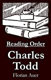 #9: Charles Todd - Reading Order Book - Complete Series Companion Checklist