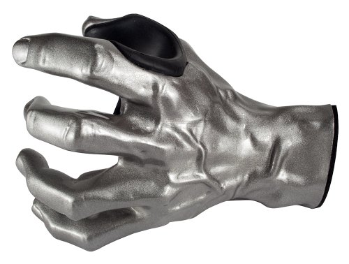 Grip Studios GuitarGrip Male Standard Grip, Left-Handed, Silver Metallic (LHGH-101) ()