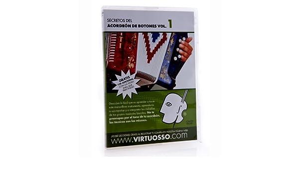 Amazon.com: Virtuosso AB1 Curso De Acordeon De Botones DVD and CD Vol.1: Musical Instruments