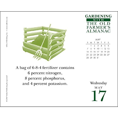 The Old Farmer 39 S Almanac Gardening 2017 Daily Desk Boxed Calendar
