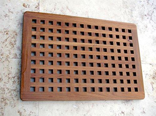 The Original Teak Grate Bath Shower Mat by AquaTeak (Image #6)