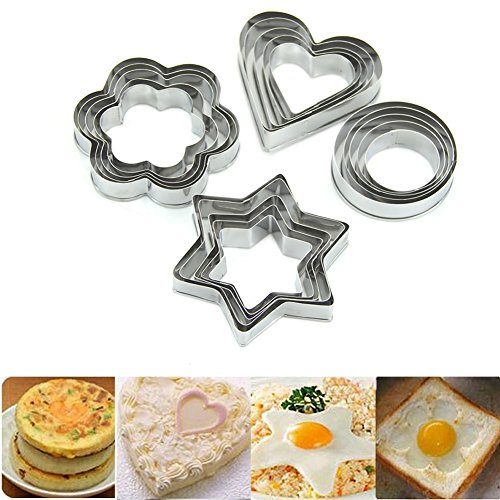 HeroNeo Stainless Flower Sporting Biscuit