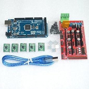 Compatible con Arduino Mega 2560 R3 + 3d controlador de impresora ...