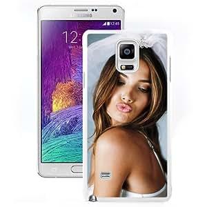 Unique Designed Cover Case For Samsung Galaxy Note 4 N910A N910T N910P N910V N910R4 With Lily Aldridge Girl Mobile Wallpaper (2) Phone Case