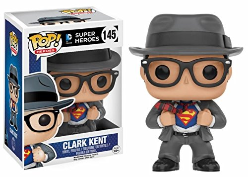 Funko Pop Heroes: Clark Kent Collectible Figure, Multicolor    -