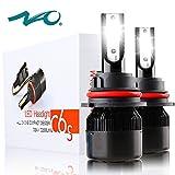 9007 LED Headlight Bulb,NAO HB5 Car LED Headlights Conversion Kit,60W 6400LM 6500K- 2 Yr Warranty