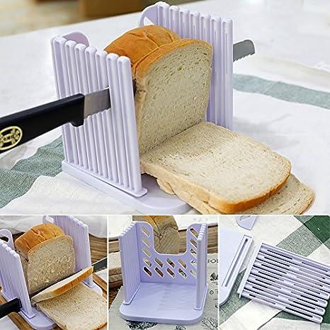 Compra Kitchen pro - Cortador de pan, herramienta de guía de corte ajustable, multifuncional en Amazon.es