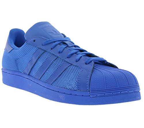 adidas Superstar, Scarpe da Ginnastica Basse Uomo Azzuro
