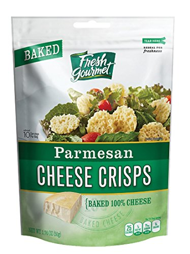 Fresh Gourmet Cheese Crisps, Parmesan, 1.76 Ounce