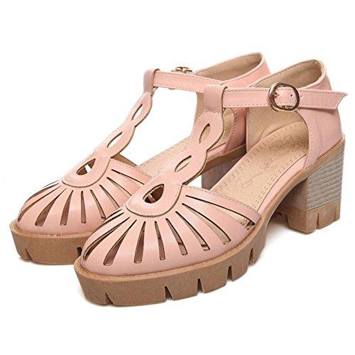 pink Creux Femmes Sandales JOJONUNU Ete 6xwapqn8