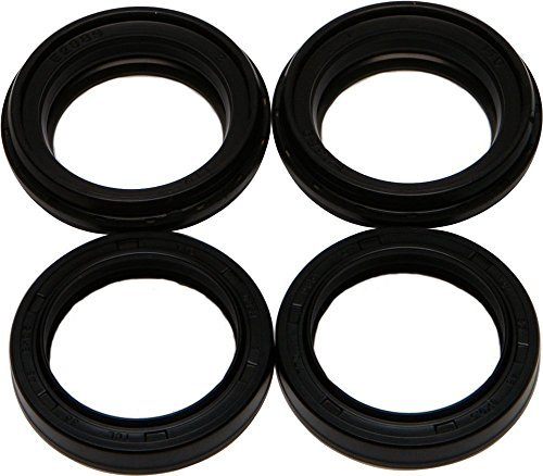 Outlaw Racing Fork Oil Seal and Dust Seal Kit - Triple Lip Seal Design Dust Wiper - Exceeds OEM - Prolongs Seal Life by 3 to 5 Times Over OEM Seals