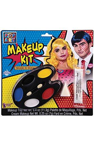 Pop Art Makeup Kit Costume