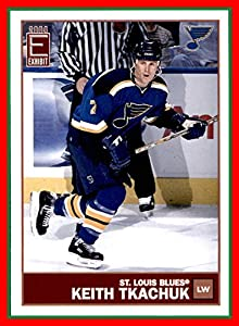 2003-04 Pacific Exhibit #125 Keith Tkachuk ST. LOUIS BLUES