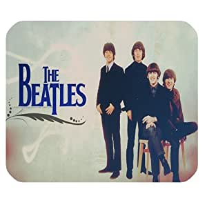 Beatles Customized Standard Rectangle Mouse Pad Mouse Mat (Black)