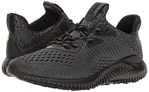 adidas Performance Women's Alphabounce Ams w Running Shoe, Black/Utility  Black/White,