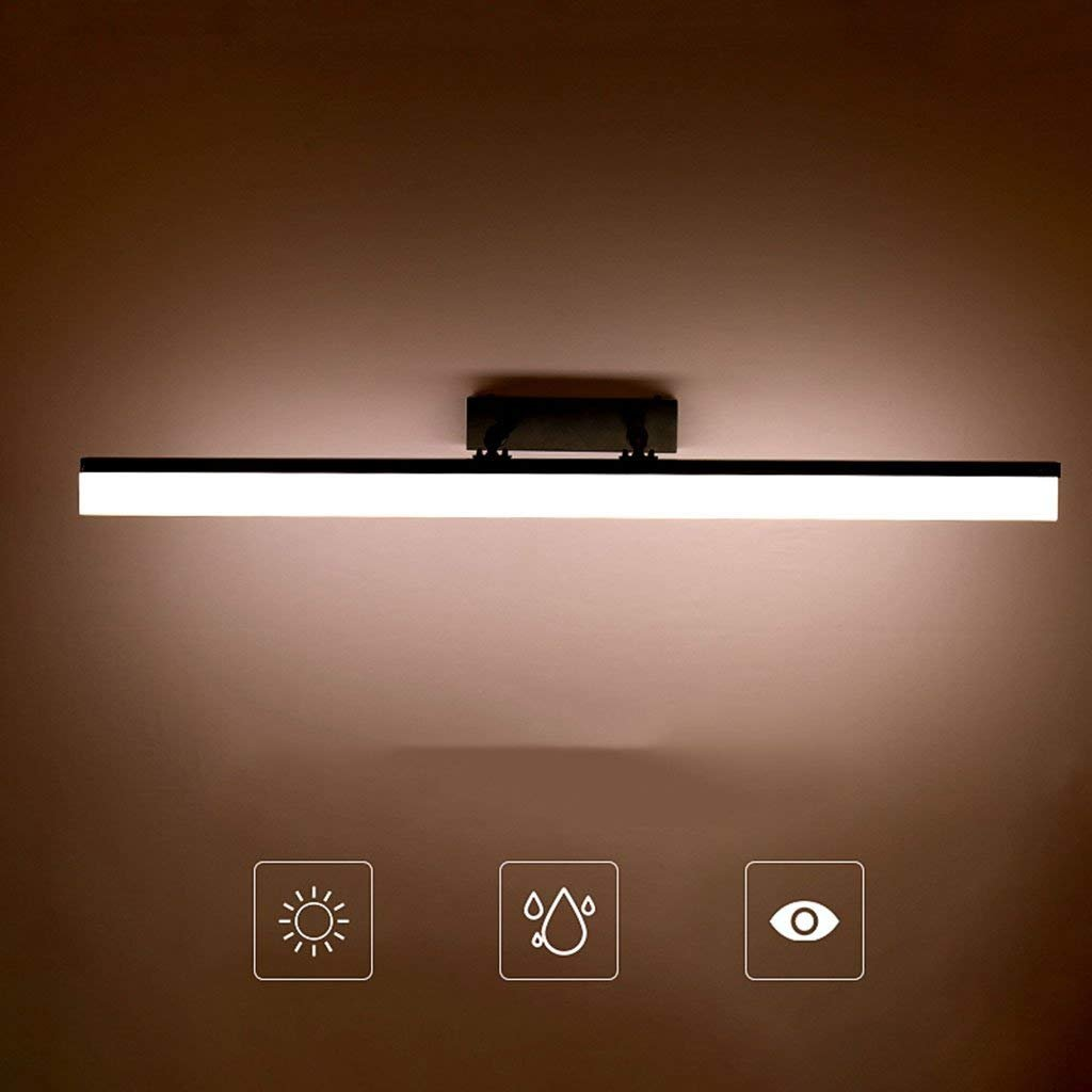 Lamps Lamps Lamps LED Spiegelschrank Spezielle Lampen, Badezimmer Make-up Licht Spiegelschrank Lampe Waschbecken Lampe Spiegel Spiegel Lampe Wasserdicht Schwarz, Wasserdichte Wandleuchte b09958