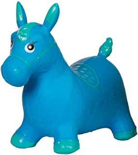 Palla ponticello cavallo bambino blu pogo giocattoli bambino