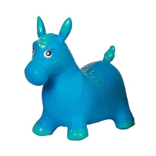 Ballon saltador caballo niño azul pogo juguete bebé: Amazon.es: Hogar