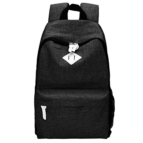 Canvas Backpack, Bagerly Casual Laptop School Bag Satchel Dayback