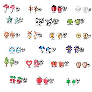 Considerate New Medical Stainless Steel Punk Flesh Gauge Ear Plugs Stretcher Tassel Leaves Ear Tunnel Expander Body Piercing Fashion Jewelry Jewelry & Accessories