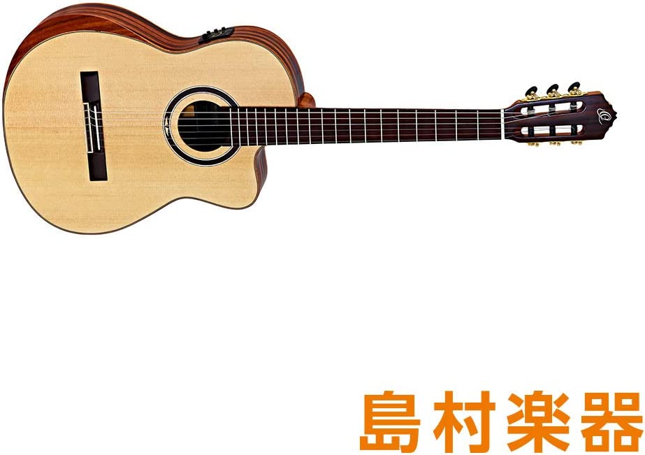 Ortega Stripedsuitec/E - Guitarra clásica: Amazon.es: Instrumentos ...